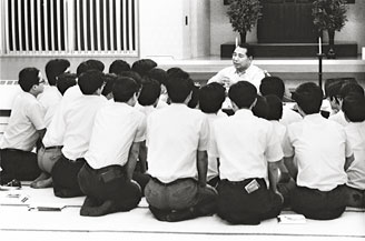 Concern for the growth and happiness of each person is, in Ikeda's view, the essential spirit of education