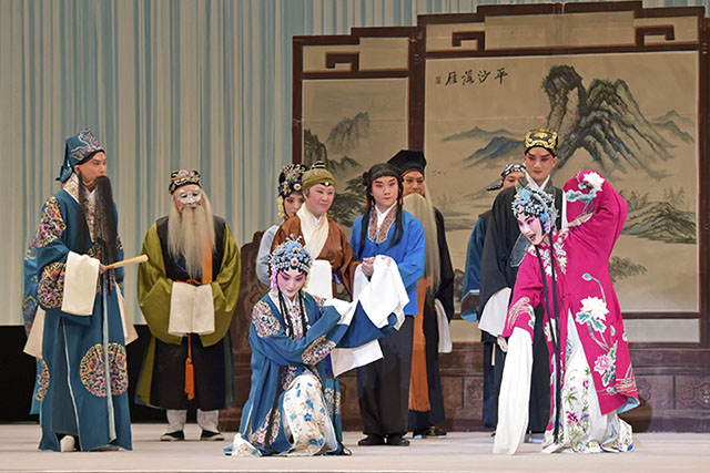 The Peking Opera Company performs