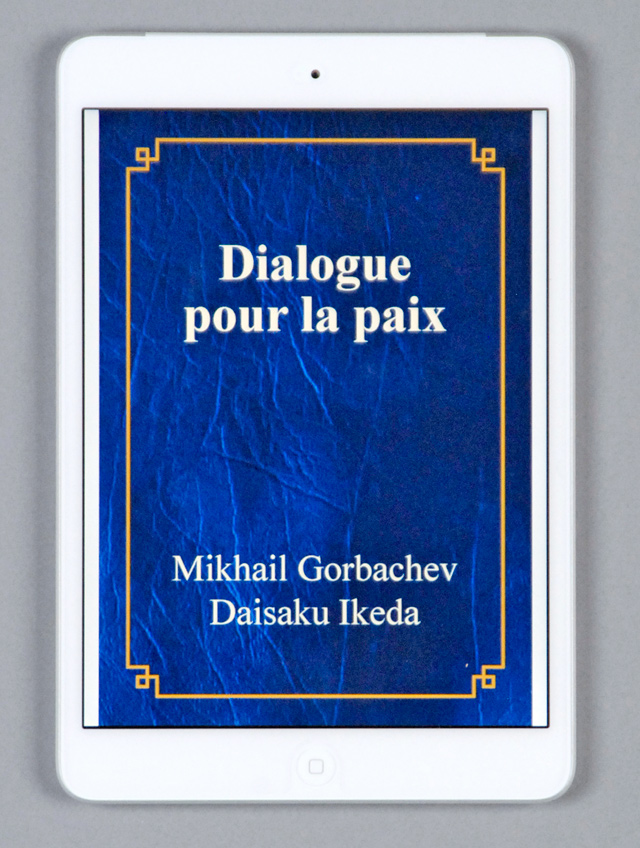 French e-book edition of the Gorbachev–Ikeda dialogue