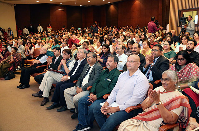 Participants at the symposium in New Delhi