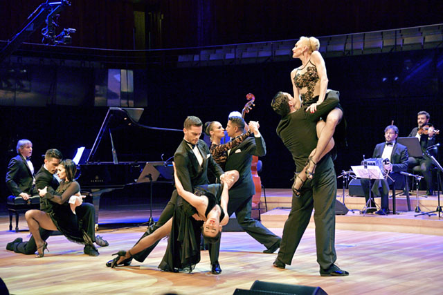 Commemorative tango concert and dance