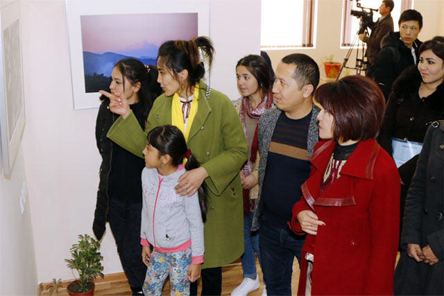 Dialogue with Nature Photo Exhibition in Navoiy City, Uzbekistan