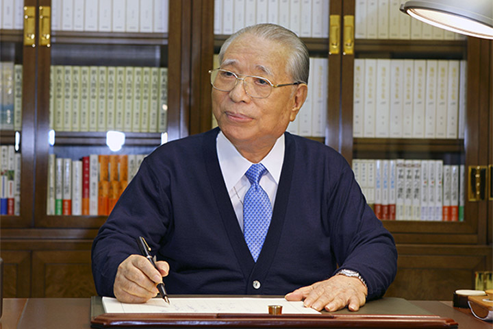 """""""A great human revolution in just a single individual will help achieve a change in the destiny of a nation and, further, will enable a change in the destiny of all humankind.""""  --Daisaku Ikeda  A new article highlights the significance of Daisaku Ikeda's The New Human Revolution. The SGI president completed this epic novel exactly 25 years after beginning to write it. He has called it his life's work, a story of """"the triumph of ordinary people as they illuminate the world with the humanism of Nichiren Buddhism and a record of the diamond-like, genuine path of mentor and disciple.""""  Share how reading The New Human Revolution has influenced you."""
