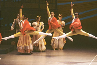 The National Ballet of Cuba performed in Japan in 1991 at the invitation of the Min-On Concert Association, founded by Ikeda