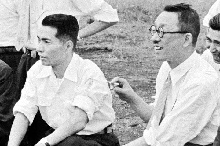 What are the most meaningful encounters you've had?  August 14th is the anniversary of the day in 1947 when Daisaku Ikeda first met Josei Toda, the leader of the Soka Gakkai Buddhist movement, who became his mentor. This encounter dramatically changed Ikeda's life, and 10 days later, on August 24th, he joined the Soka Gakkai and started practicing Nichiren Buddhism.   Read Ikeda's account of this meeting with Josei Toda: https://www.daisakuikeda.org/sub/resources/works/essays/bio-essays/encountering-josei-toda.html  #SokaGakkai #SGI