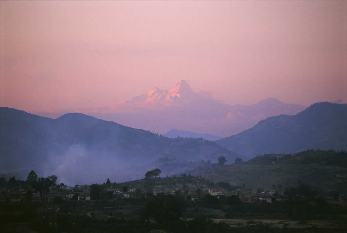 The Himalayas, Nepal (November 1995)